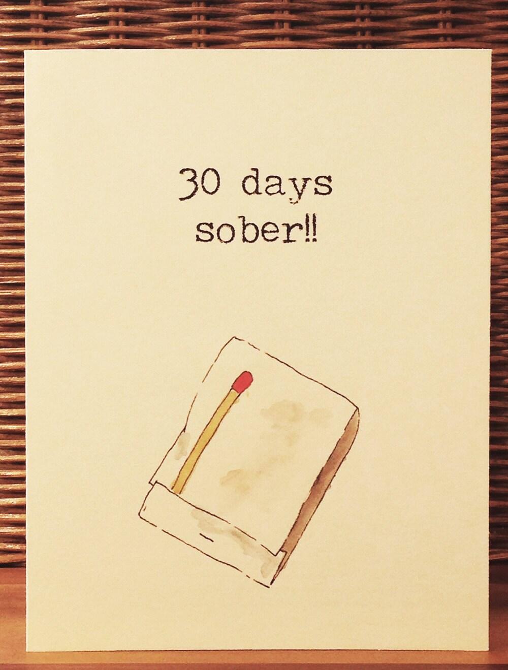 Image result for 30 days sober