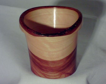 Wood Cup- Mesquite Wood (sn.023)