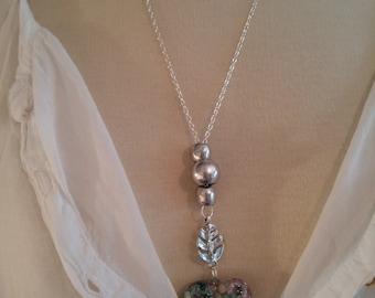 Handmade necklace. Costume jewelry