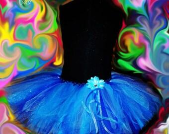 Enchanting Shades of Blue Tutu for your Princess