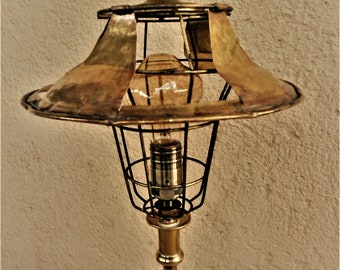 ANTIQUE LAMP / VINTAGE lamp / Bohemian lamp / Retro lamp / Recycled handmade lamp / Industrial lamp