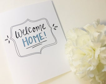 New House Card - Housewarming Card - Moving Day Greeting Card - First Home Card - House Warming - Welcome Home