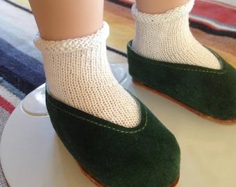 """Finest Handknit Socks for Sasha, Girl for all Time,  16"""" Doll"""