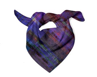 Royal plaid Scarf