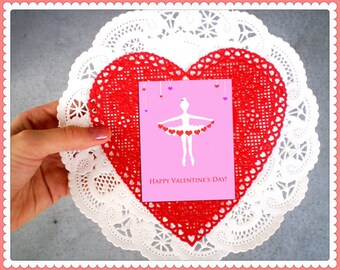 Ballerina Valentines PDF