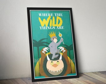 Where The Wild Things Are Poster Print