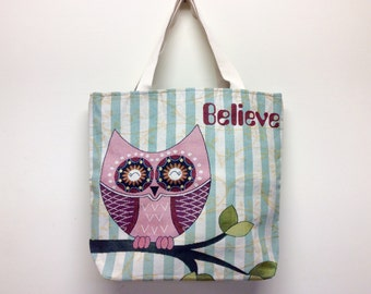 Women's shoulder bag,owls beach bag,big beach bag,summer bag,overnight bag,owls tote bag,women's tote bag,canvas beach bag,canvas tote bag