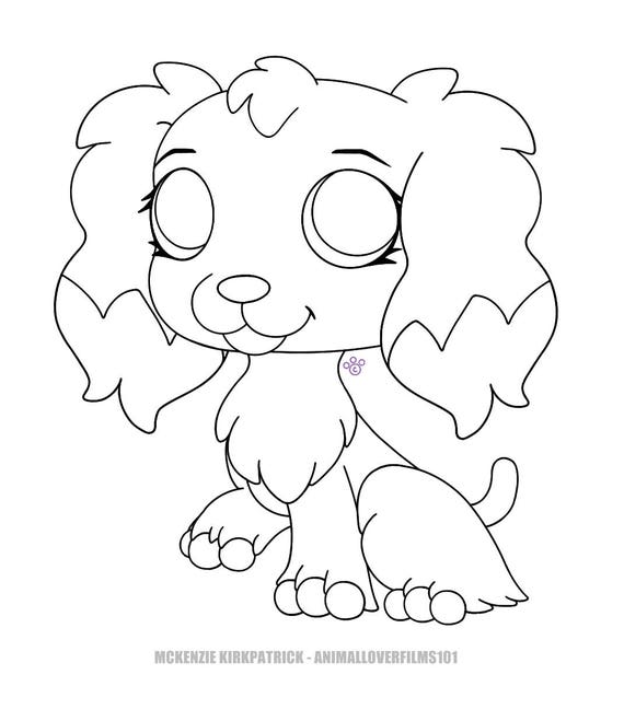 Cocker spaniel coloring pages for English springer spaniel coloring pages