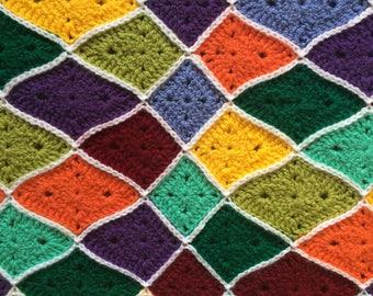 pattern: Solid Granny Diamond