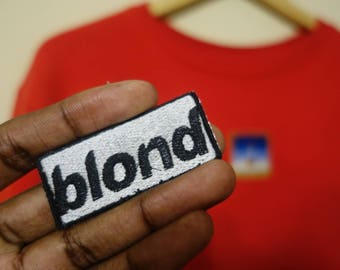 Frank Ocean Blond album logo/patch