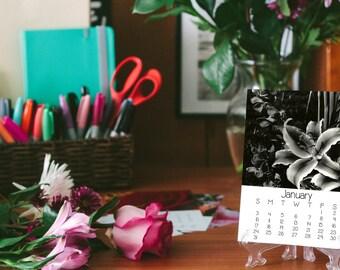 2018 Desk Calendar, Floral Photography, 5x7, Fine Art Prints, Nature, Floral