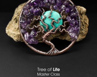 Tree of Life Pendant Master Class PDF by Lonely Soldier Designs
