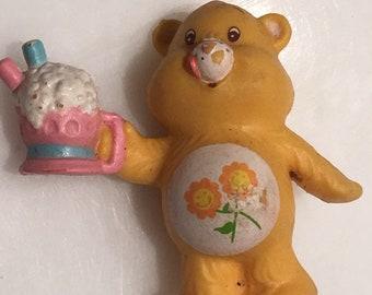 Care Bear Friend Bear 80s figurine
