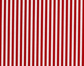 Red Clown Stripes from Michael Miller Fabrics