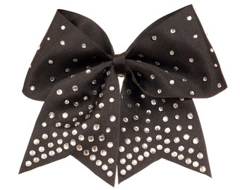GymStar Black Super Bling Bow