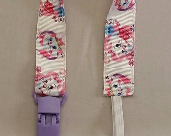 Pacifier Clip, Binky Clip, Teether Clip, Baby Shower Gift, Toy Clip