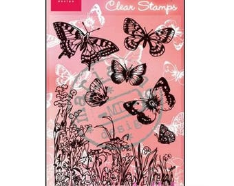Stamps transparent butterflies Marianne Design scrapbooking ref CS0926 (ref.210). *.