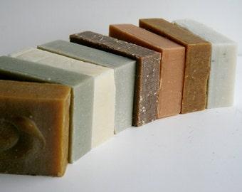 Handmade Soap 8 Pack, Essential Oil Soaps, Natural Soap, Cold Process Soap, Vegan Soap