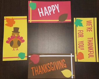 Happy Thanksgiving, Care Package Flaps, holiday, turkey, gobble gobble, Miss You, love, military, deployment, missionary, family, friends