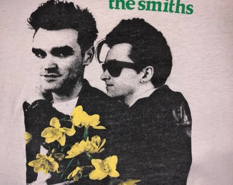 Vintage The Smiths Morrissey thrashed shirt XL