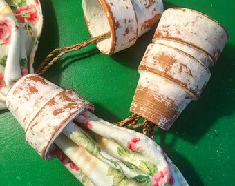Adorable Terra Cotta Pot Napkin Rings