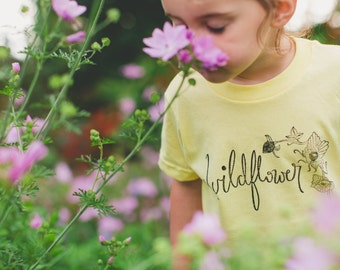 SALE Multiple Options ~ Wildflower Kids Tee's - Original and Ethical fashion