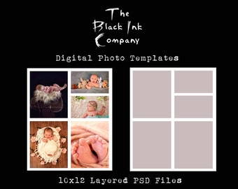 10 x 12 Collage Template #5