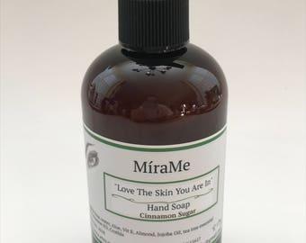 Love The Skin - 8 Oz Liquid Hand Soap Cinnamon