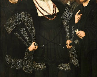 Poster, Many Sizes Available; Martin Luther And The Wittenberg Reformers By Cranach 1543