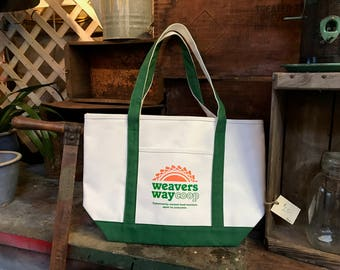 Weavers Way Canvas Tote