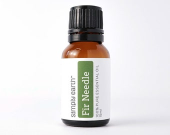 Fir Needle Essential Oil 15ml by Simply Earth   100% Pure