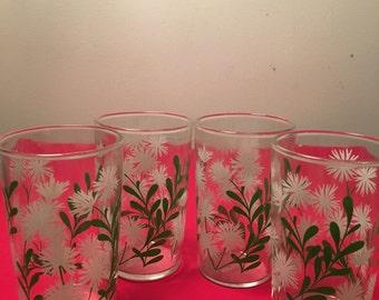 VTG Swank, Flower Juice Glasses