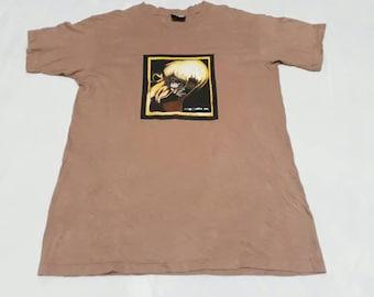 Best buy!!! Free shipping!!!! Rare vintage 1995 split art work graphic skateboards mens tshirt. Size L / hypebeast / skate brand / thrasher