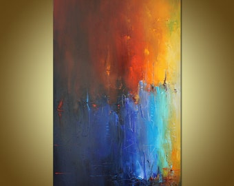 Abstract Art, Original Art, Oil Painting Abstract, Abstract Canvas Painting, Contemporary Art, Large Canvas Art, Large Wall Art Painting