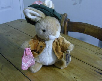 Benjamin Bunny Beatrix Potter Cuddly Toy