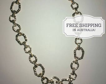 Chunky Gold Chain Necklace | Christmas Xmas Gift | Jewellery Gift | Girlfriend Gift | Fashion Jewellery