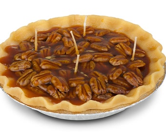 Glazed Butter Candle Pecan Pie - Large