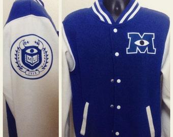 Monster's University Varsity Jacket