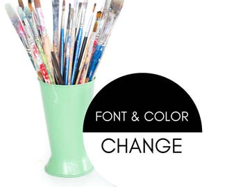 UPGRADE: Change the Font