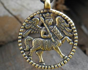 centaur pendant around the neck diameter of 35 mm