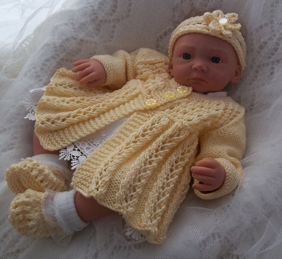 Baby Knitting Pattern Download Knitting Pattern Baby Girls