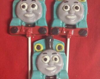5 Thomas the Train Chocolate Pops