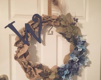 Year Round Burlap Wreath