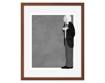 Doctor Who print - the First Doctor/William Hartnell