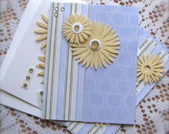 DIY   Daisy   Greeting Card Kit    Set of 4   Shipping Included
