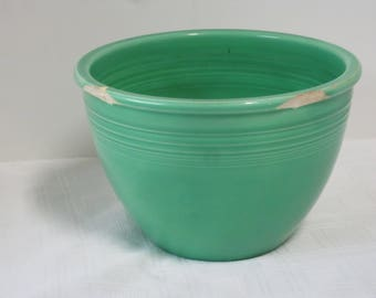 Fiesta China Green #4 Nesting Bowl Vintage