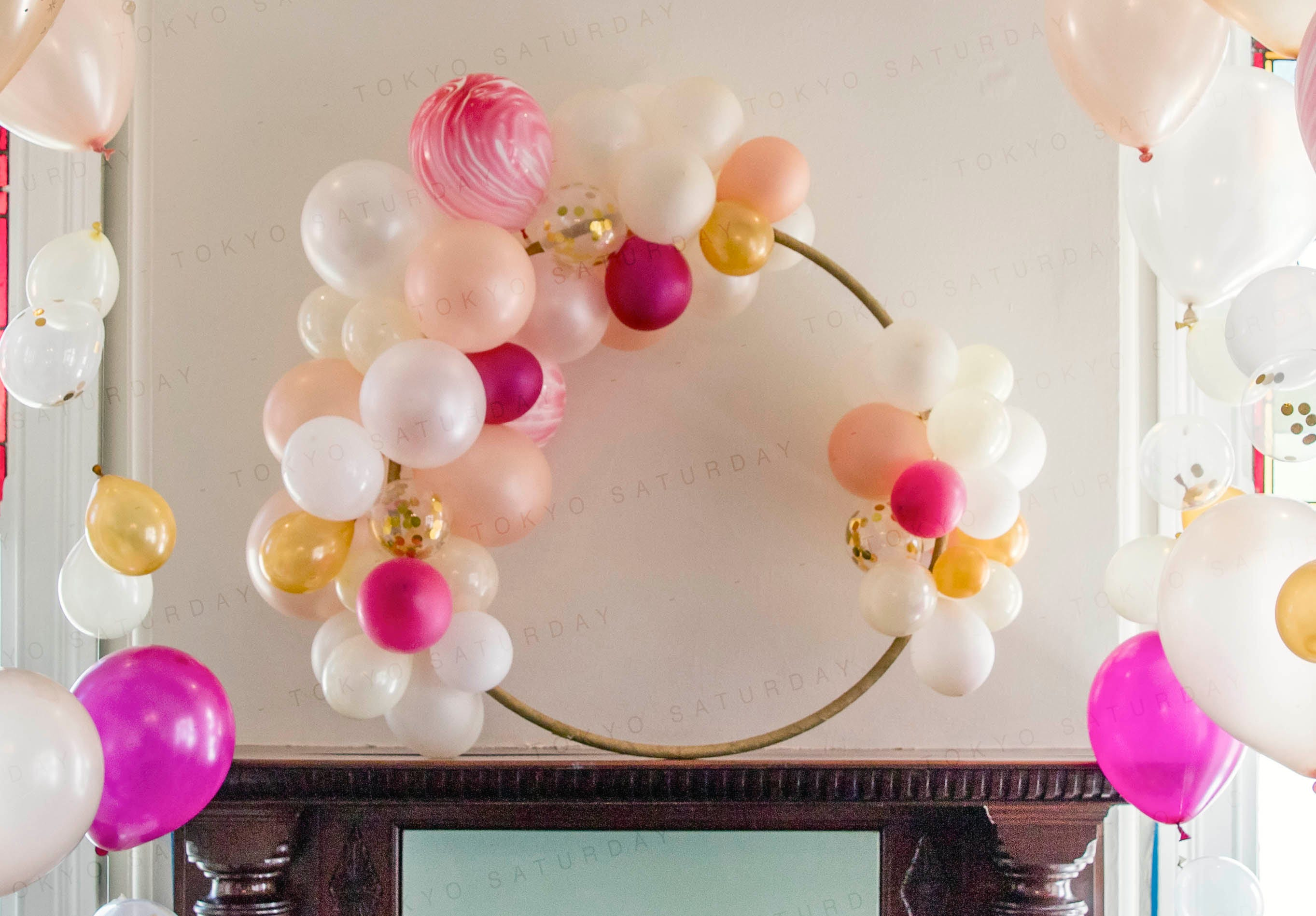 Party Balloon Decoration Balloon Hoop Wedding Party Birthday