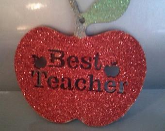 Teacher hanging plaque