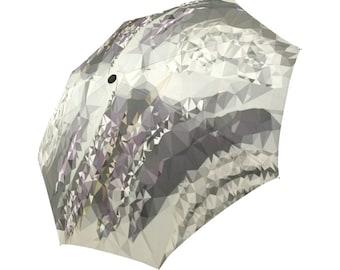 Gray Umbrella Abstract Umbrella Geometric Pattern Umbrella Rainbow Umbrella Photo Umbrella Automatic Foldable Umbrella Abstract Umbrella