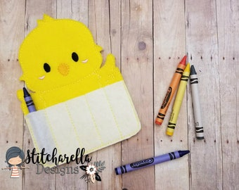 Chick Crayon Holder